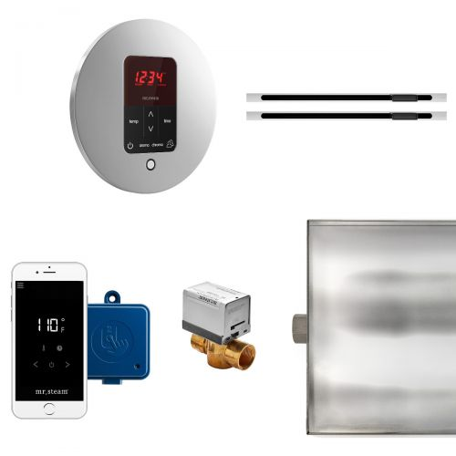 Mr Steam Round Butler MAX Package with Linear Steam Head