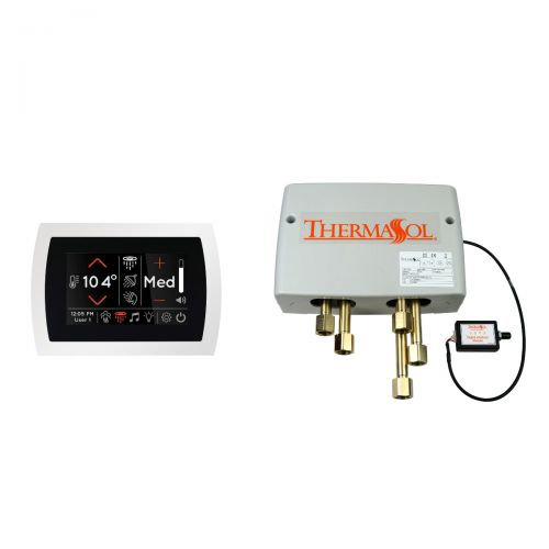 Thermasol Digital Shower Package w/ White SignaTouch Control