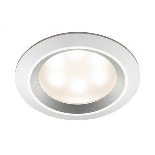 Mr Steam Recessed LED Light in Aluminum Polished