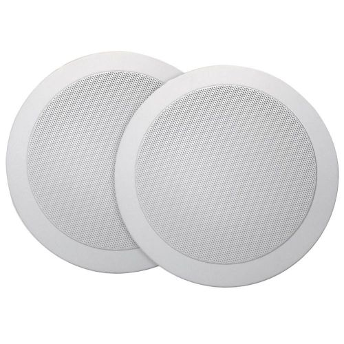 Mr Steam Audio Speakers (Round)-White
