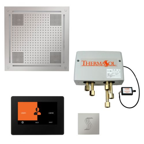 """Thermasol Total Wellness Hydrovive Package w/7"""" ThermaTouch and Square"""