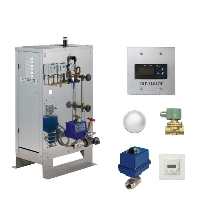 Mr Steam C1000 CU-1 Commercial Generator w/ Digital 1 Control Package 24kW