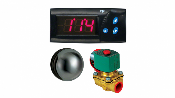 Mr Steam Commercial Digital 1 Control Package CU1-D1