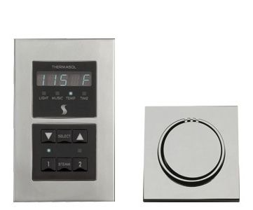 Thermasol Signature Series Control Kit - Modern Recessed